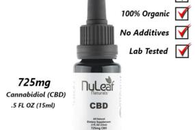 USDA Certified Organic Full Spectrum Hemp Oil