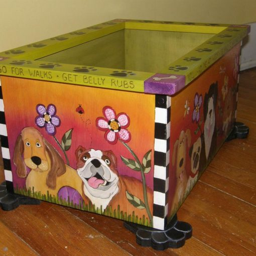 custom dog toy box