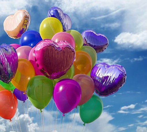 celebrate balloons