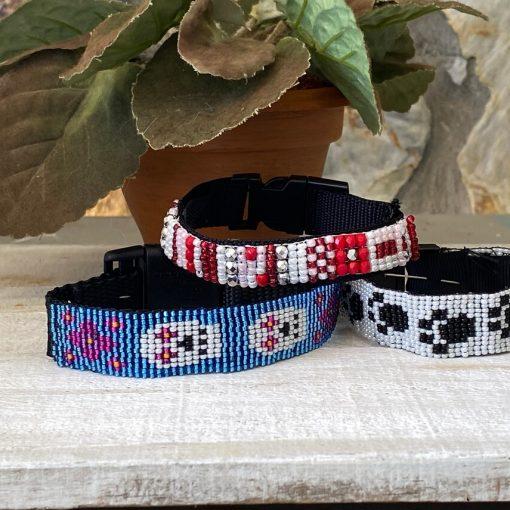 custom beaded collar